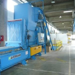 Avermann AVOS 1211 Horizontal Baler supplied by Kenburn