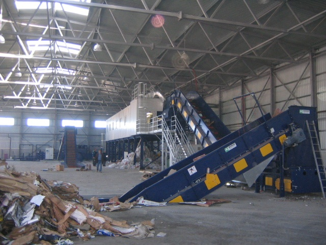 Avermann Conveyors Within A Sorting Plant