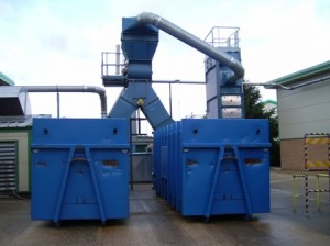Avermann static compactors