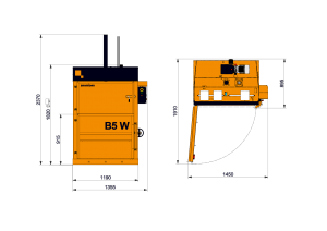 B5W Technical Drawing