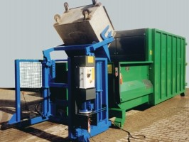Bergmann Bin Lift Tipping Device