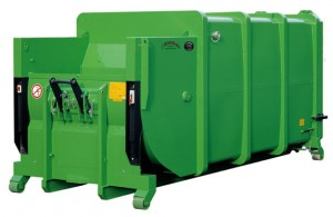 Bergmann MPB 906 907 wet waste compactor