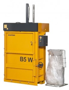 Bramidan B5W Vertical Baler supplied by Kenburn