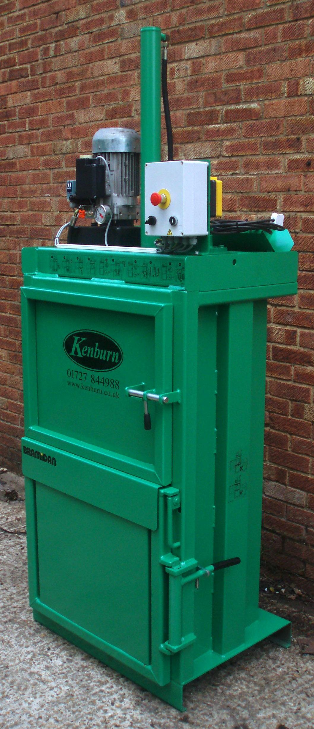 Bramidan 2-0G waste baler refurbished at Kenburn