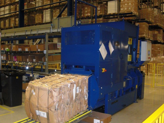 Kenburn installs horizontal baler at Teva