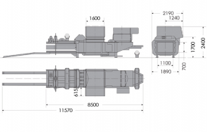 HC50L Technical Drawing