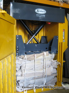 Kenburn supplied Bramidan baler baling carpet at Oxbridge Flooring