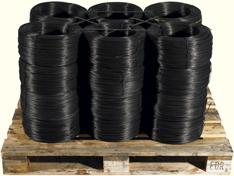 Rewound coils of wire
