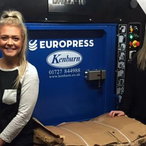 Europress waste baler
