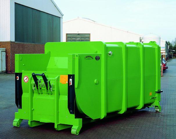 Bergmann MPB 907 wet waste compactor