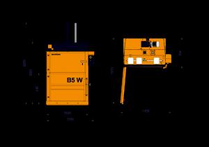 Bramidan B5W Technical Drawing