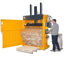 Bramidan B30W baler supplied by Kenburn