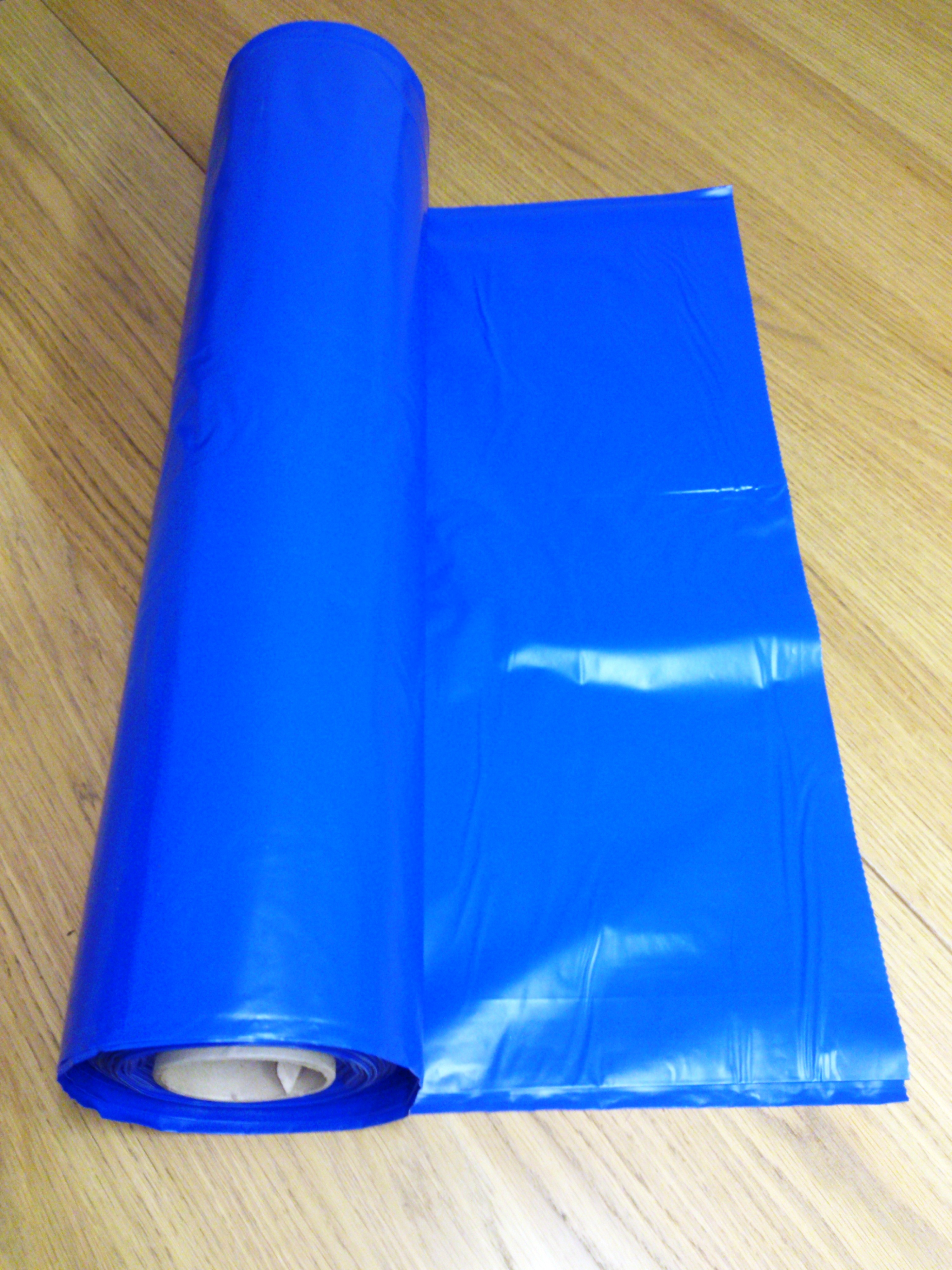Blue Opaque Compactor Bags supplied by Kenburn