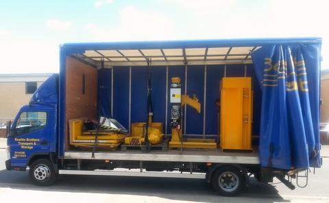 Bergmann PS800 roto compactor and Bramidan baler - Kenburn