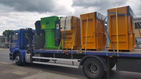 Kenburn delivers waste machinery
