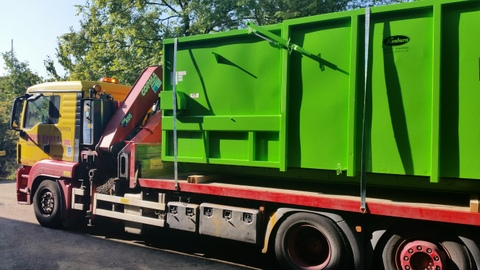 Avermann 20P portable compactor refurbished at Kenburn