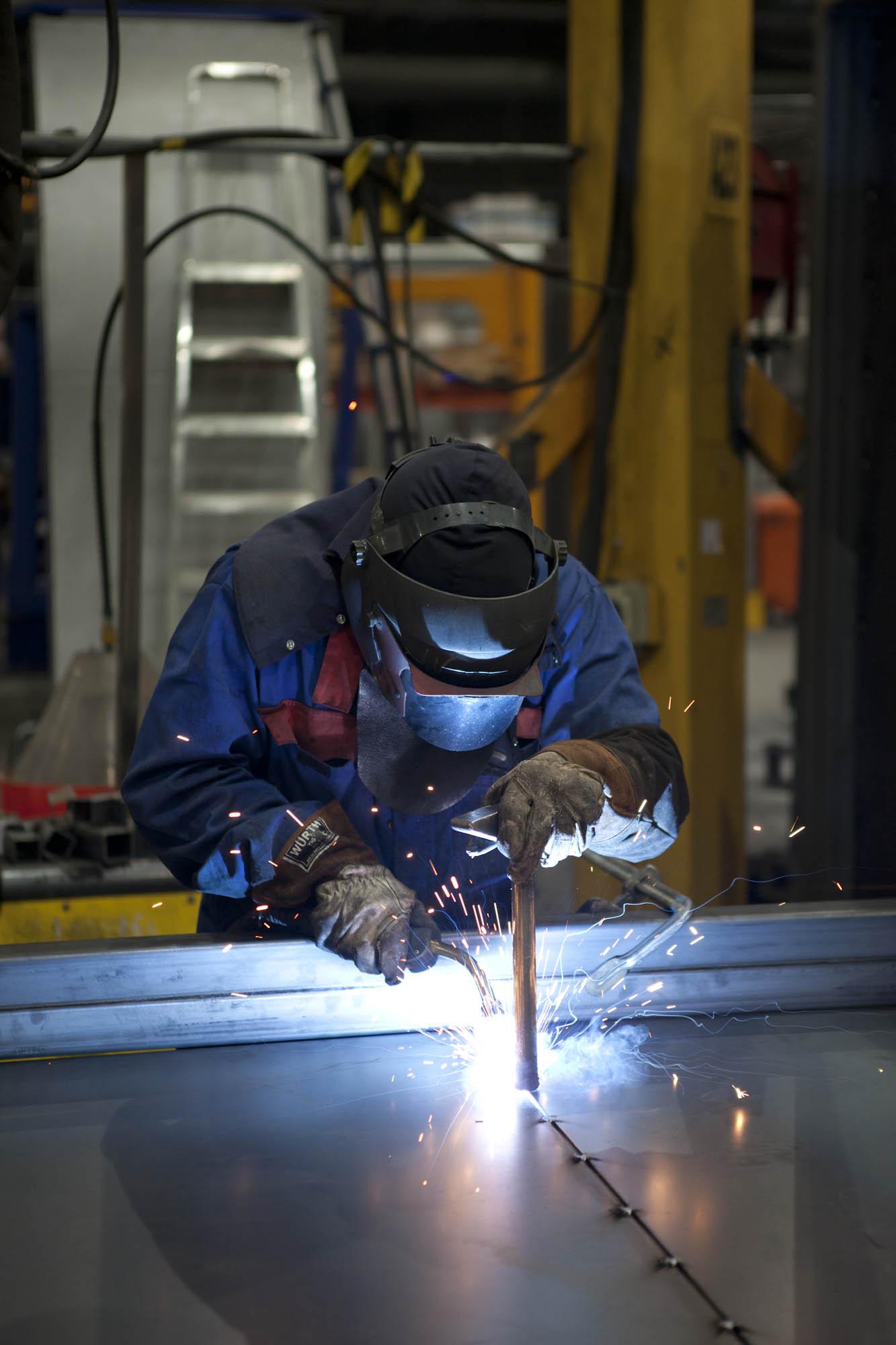 Europress Factory welding
