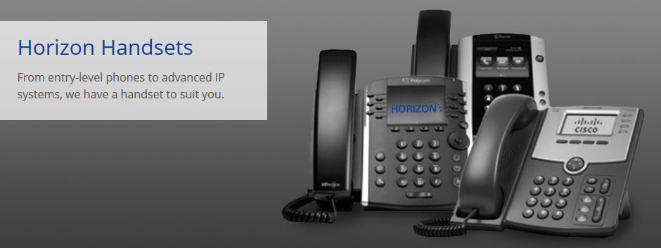 Horizon handsets supplied by Exchange Communications