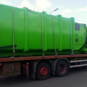 Bergmann MPB 907 SN24 Wet Waste Compactor