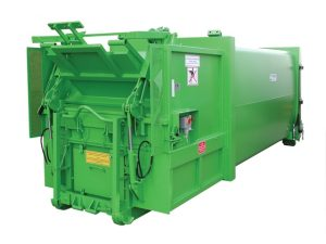 Avermann-20P-Portable-Compactor-with-bin-lift