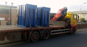 Delivery of Plastique Balex Balers