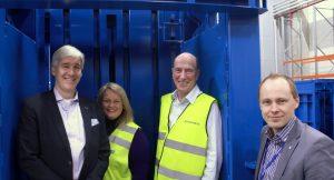 David Hall & Gail Foxcroft at Europress Factory inside Balex 50