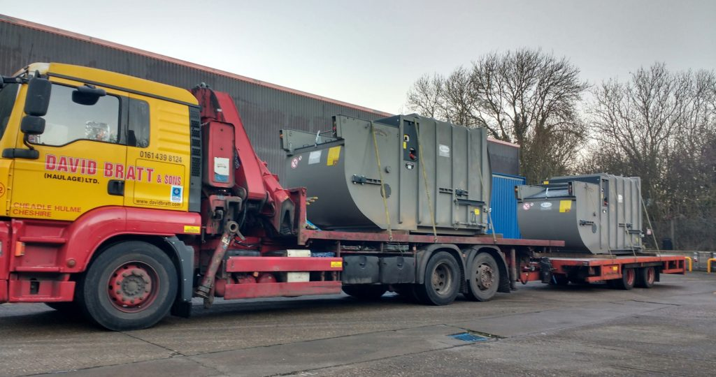 Bergmann MPB 405 SN10 ready for offloading