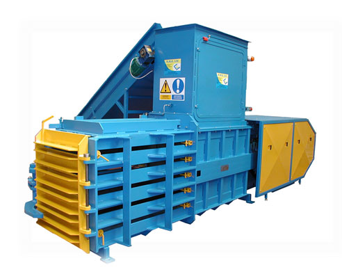 KH50 Semi Automatic Horizontal Baler