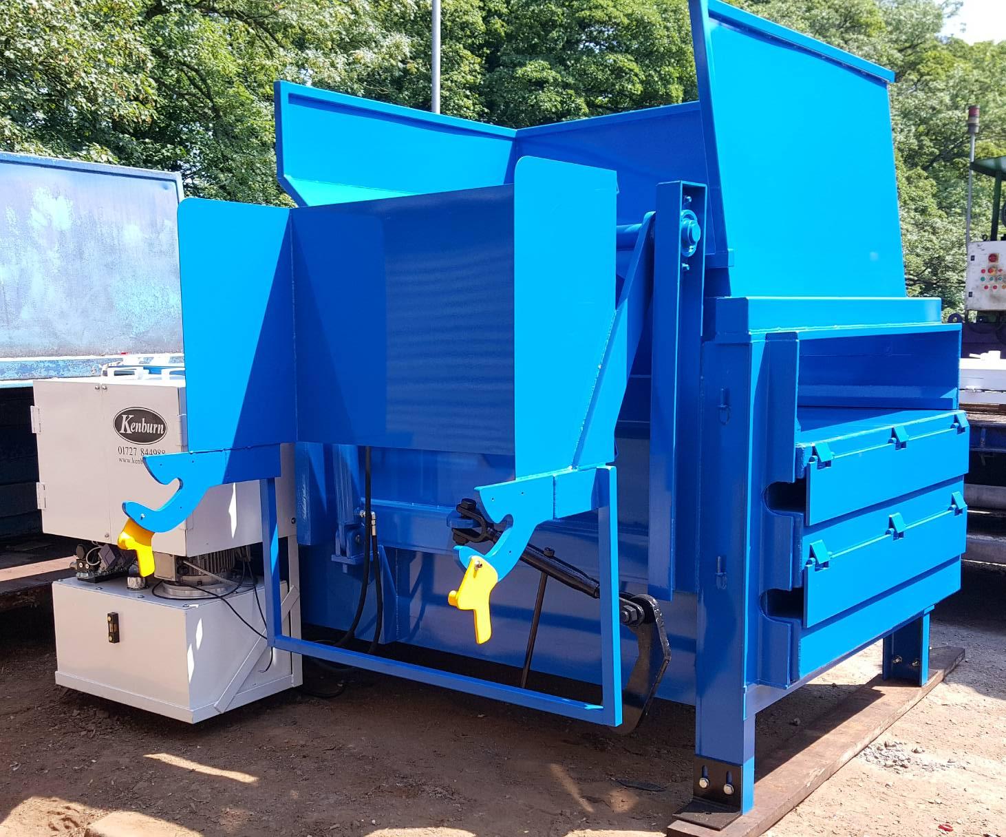 Kenburn Select KS250 Static Compactor with bin lift